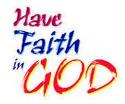 have faith inGOD